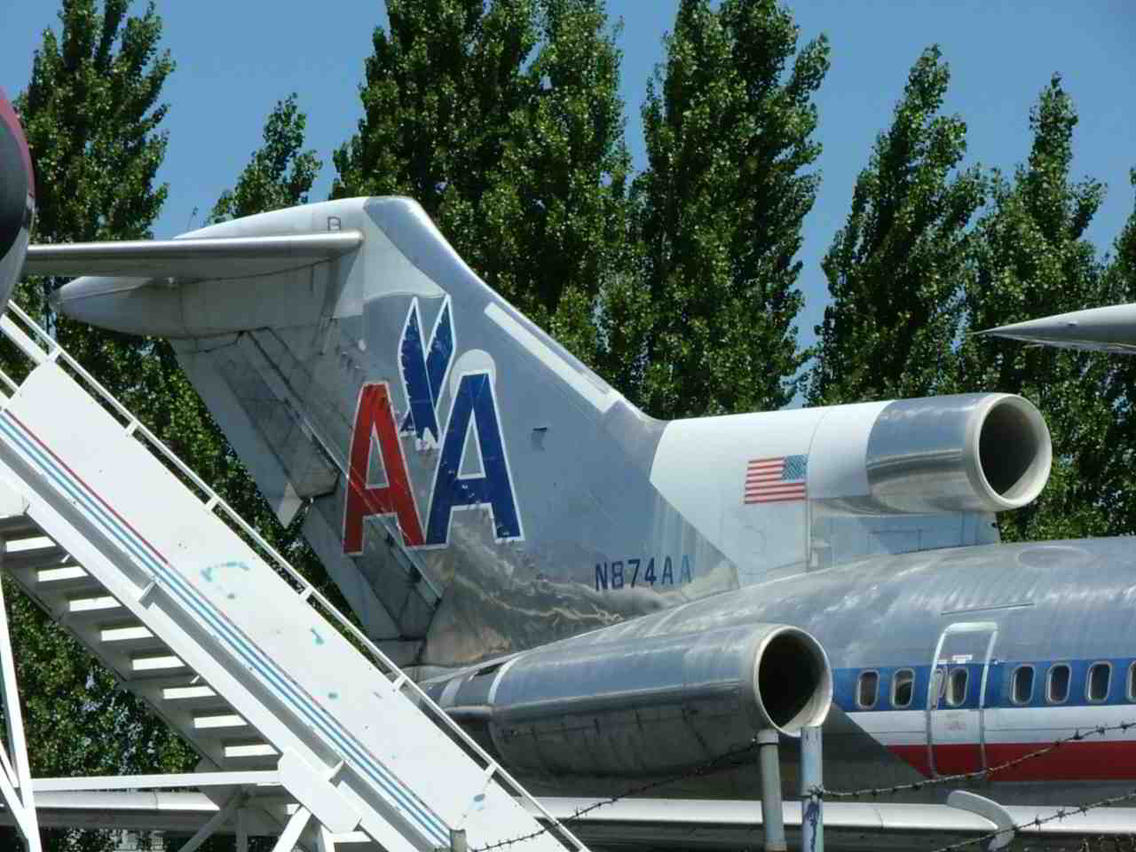 American Airlines Boeing 727-223