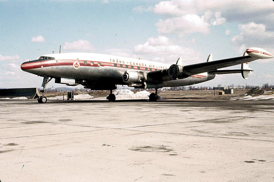 TCA Super Connie CF-TGE Dorval