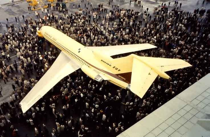 727 Prototype Rollout