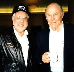 Bob with Chuck Yeager